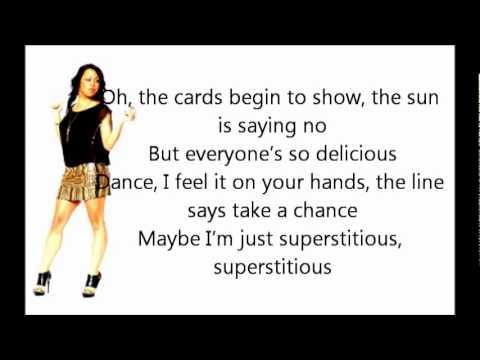 Glenna Bree - Supersticous (Lyric Video) - YouTube.flv