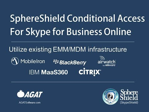 SphereShield Conditional Access Skype for Business Online thumbnail