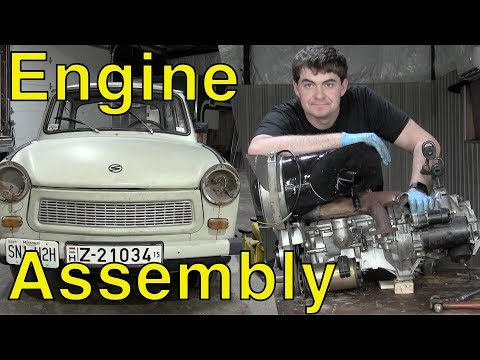 Rebuilding the Trabant's Engine: Part 3 - Assembling the Engine
