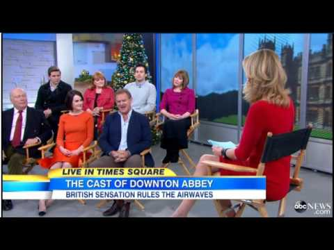 Walter Brown - Binge watching Downton Abbey? Here is a cast interview!