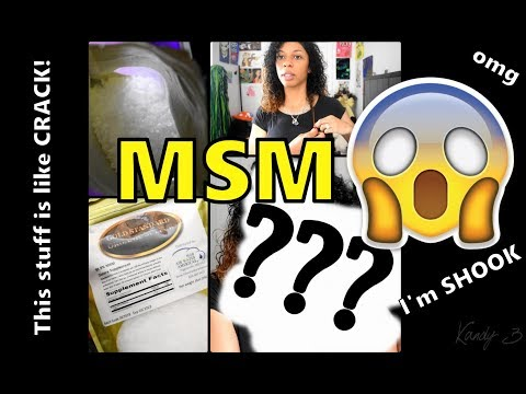 I'M SHOOK!! FAST INTENSE HAIR GROWTH IN 31 DAYS! || MSM Crystals