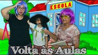 VOLTA ÀS AULAS COM A PROFESSORA MALUCA COM DISFARCE