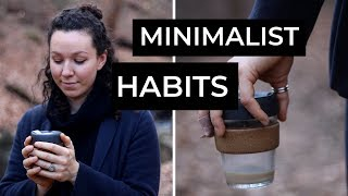 8 MINIMALIST HABITS FOR 2019 | my minimalist journey