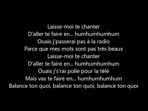 Angèle Balance Ton Quoi Lyrics