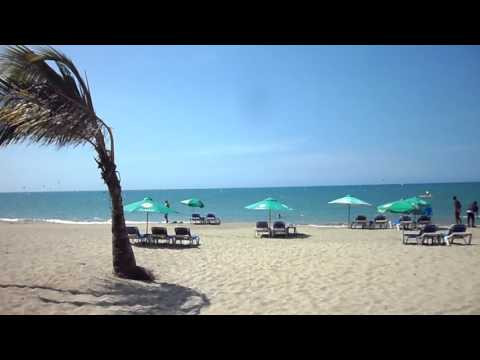 Playa Cabarete ( Republica Dominicana)  en 2012