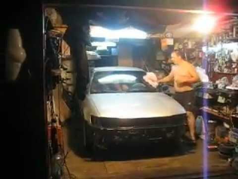 Toyota Corolla EE101 превращение в AE - Первый выезд из гаража