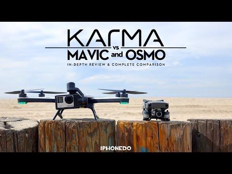 GoPro Karma Vs DJI Mavic & Osmo Mobile — In Depth Review And Complete Comparison [4K]