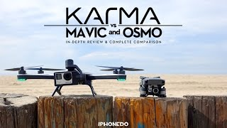 GoPro Karma vs DJI Mavic & Osmo Mobile — In Depth Review and Complete Comparison [4K] thumbnail