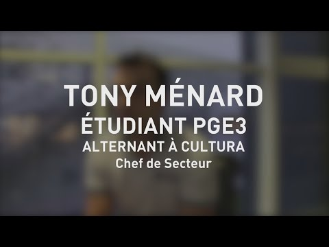 Interview - Tony Ménard - Alternant chez Cultura