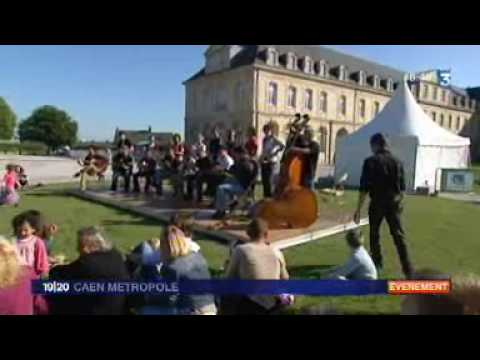 Fête de la musique 2010 Caen France 3 Normandie
