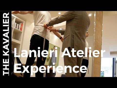 In Store Made to Measure Experience: Lanieri Paris Atelier