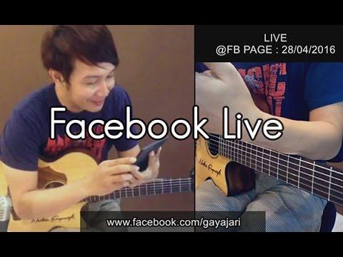 (LIVE) @Facebook (28.04.2016) wkwkwk Maaf Sob masih malu2 (Nathan Fingerstyle)