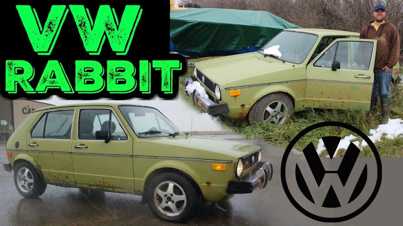vw rabbit cold start 1980 mk1 volkswagen rabbit youtube. Black Bedroom Furniture Sets. Home Design Ideas