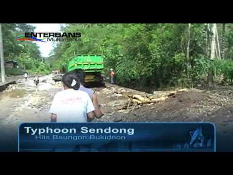 Typhoon Sendong Hits Baungon Bukidnon