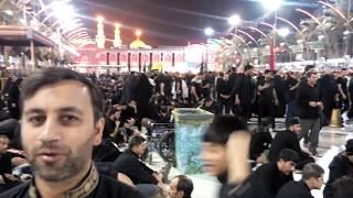 Bain ul Harmain in Karbala - Procession of Ashura Muharram