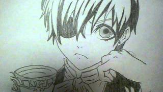 How to draw Ciel Phantomhive-(my second drawing of Ciel)