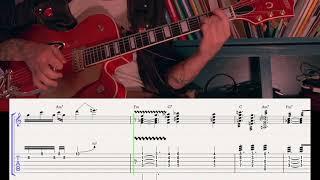 Brian Setzer - Sleepwalk Guitar Tab