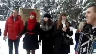 Марафон  частушек под гармонь на свадьбе 16 декабря 2011 год