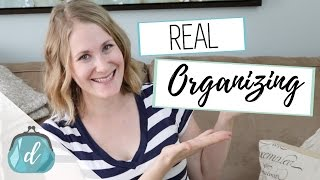 Real Organizing   How to start small