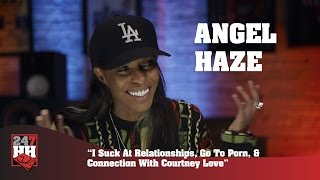 Angel Haze - I Suck At Relationships, Go To Porn, & Connection With Courtney Love (247HH Exclusive)