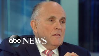 Giuliani: Trump reimbursed personal lawyer for 130K Stormy payment