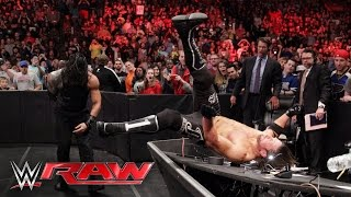 Roman Reigns & The Usos vs. AJ Styles, Luke Gallows & Karl Anderson: Raw, May 2, 2016