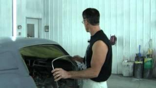 Mustang Drip Rail Molding Installation