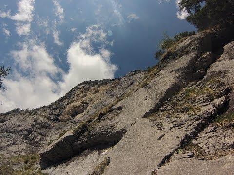 Klettersteig Fürenalp : 24.05.14 fürenalp klettersteig mit domi youtube