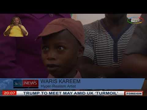 Ambode Promise To Sponsor Waris Kareem, The 11yr old Hyper Realism Artist