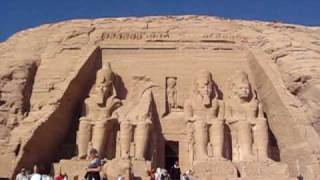 Abu Simbel in southern Egypt on the border of Sudan