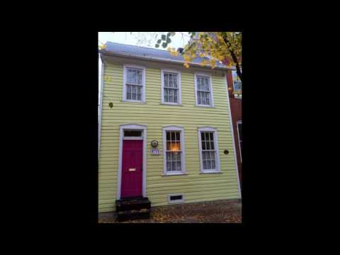 Fells Point-Spacious 18th Century Art-Filled Townhouse On Ann Street - 3598