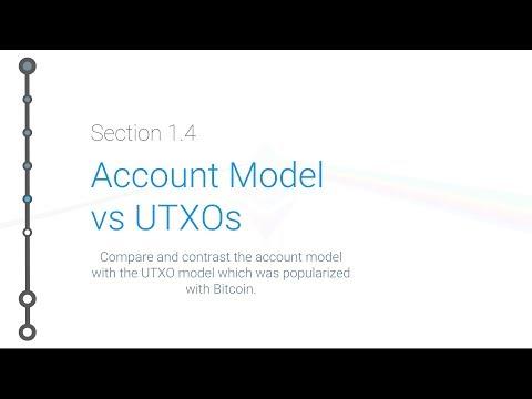Cryptoeconomics - 1.4 - UTXO Model