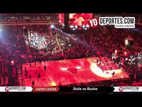 Chicago Bulls vs. Milwaukee Bucks United Center preseason 2017