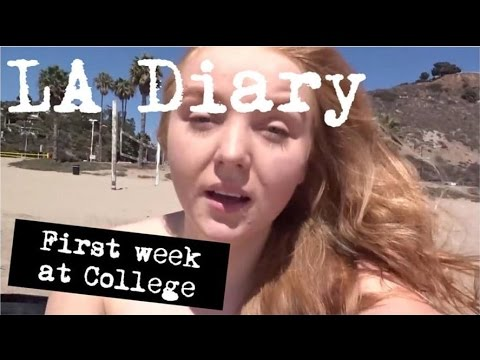 My LA Diary 4 - My first week in College SMC