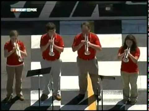 Star Spangled Banner Martinsville High School Jazz Band 03-29-10
