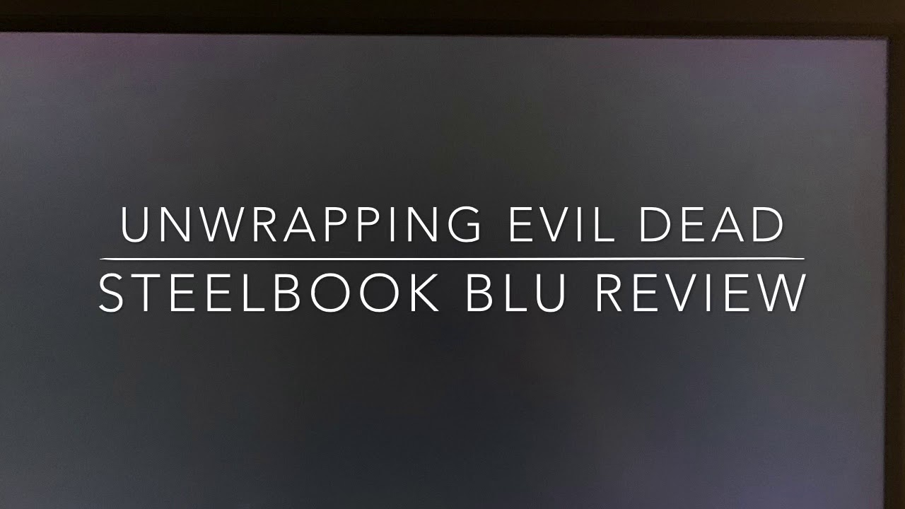 Download Evil Dead Blu Ray review.