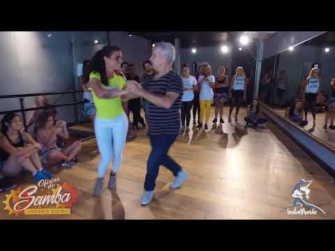 Baila Mundo - Jaime Arôxa e Robertinha Stephanie (Oficina do Samba Verão 2018)