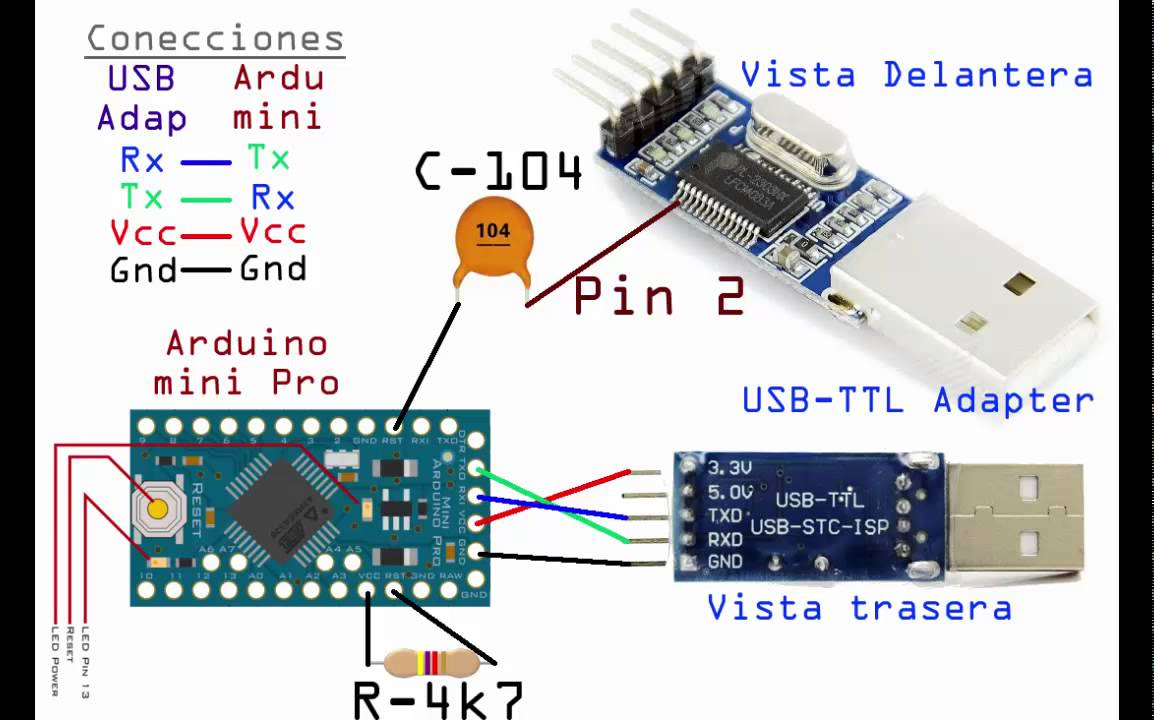Arduino mini pro working and programing youtube