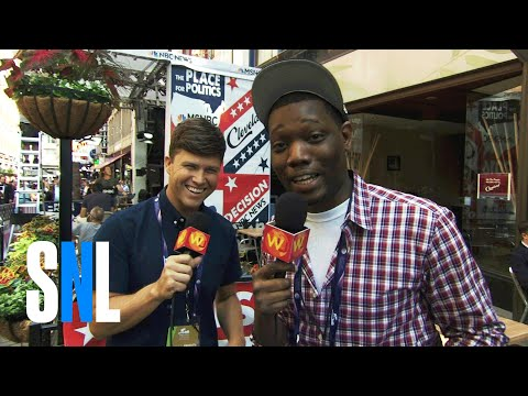 Thumbnail: Colin Jost and Michael Che Hit The Streets of Cleveland - SNL