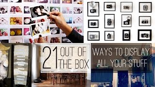 21 Wall decoration ideas and Creative Displays