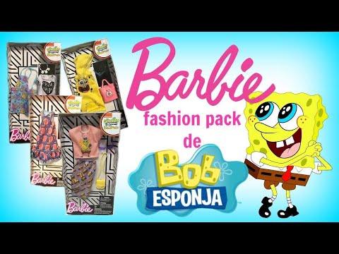 Barbie Fashion Pack De Esponja Bob Youtube 9He2IWEDYb