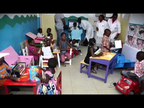Sanofi –The Pediatric Expertise by Sanofi: Fun Centers in African Hospitals