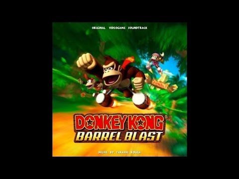 Donkey kong barrel blast diddy kong