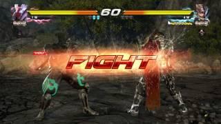 Tekken 7: Yoshimitsu Vs. Lars Online Gameplay