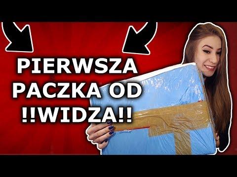 PIERWSZA MEGA PACZKA OD WIDZA!