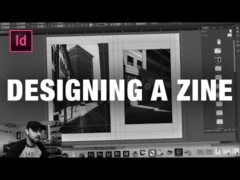 How To Design A Photo Zine In Indesign