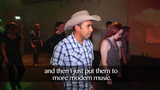 Learn how to line dance at the Buck N' Bull Saloon, London