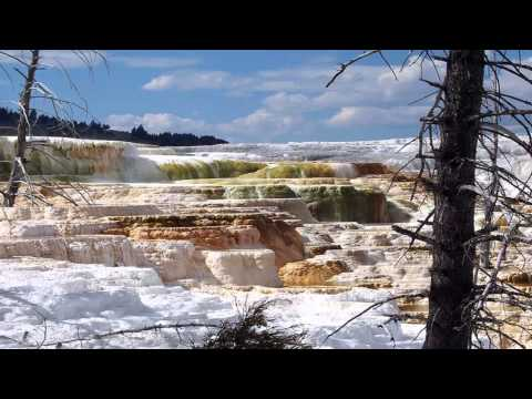 LA TERRAZA DE MINERVA. Yellowstone