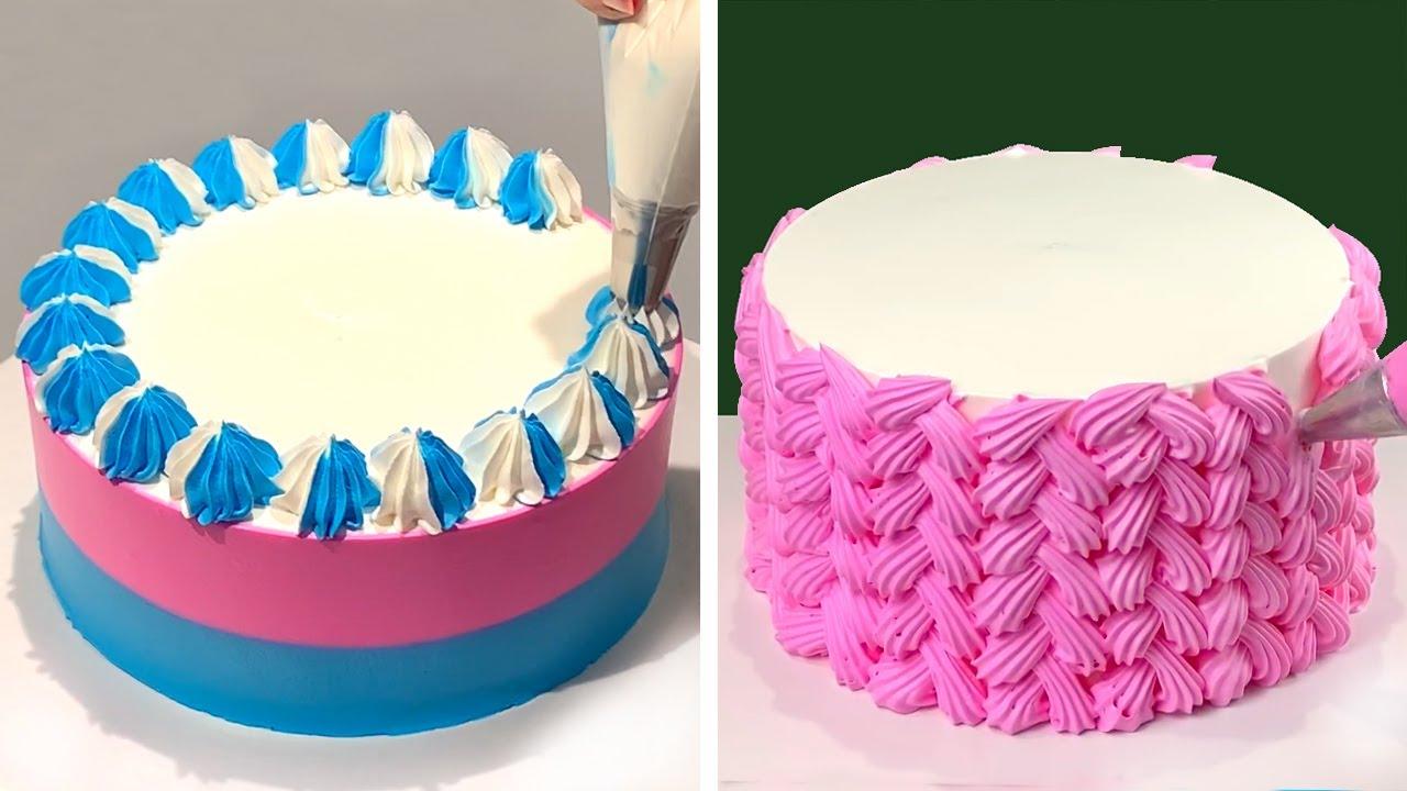 Tasty & Easy Cake Decorating Tutorials for Girls   Best Chocolate Cake Recipes   So Yummy