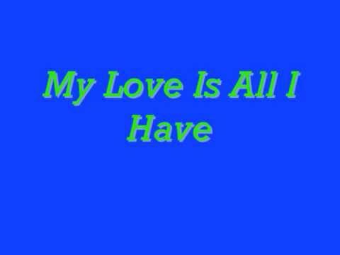 Charlie Wilson- My Love Is All I Have (Lyrics)